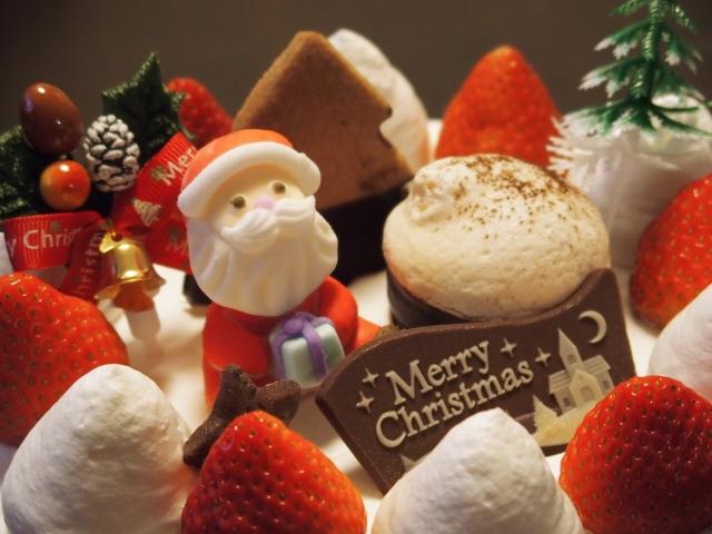 クリスマスケーキの値引きや半額の日にちや時間は?安く買う方法!