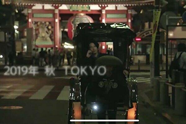 誉獅子雄(ディーンフジオカ)が人力車で電話しているシーンのロケ地は浅草寺の雷門