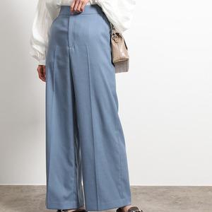 【まだ結婚できない男/4話】吉田羊/着用衣装(パンツ):ストレッチストレートワイドパンツ