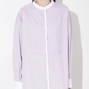 【まだ結婚できない男/1話】吉田羊/着用衣装(ブラウス):オックスヨークシャツ