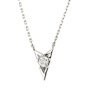 【まだ結婚できない男/4話】吉田羊/着用アクセサリー(ネックレス):Pt900/850 Wish upon a star ダイヤモンド ペンダント