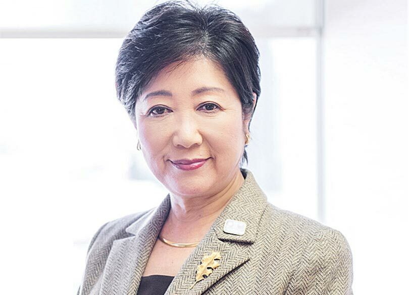 小池百合子の夫が韓国人はデマ!画像や名前・結婚歴や子供についても