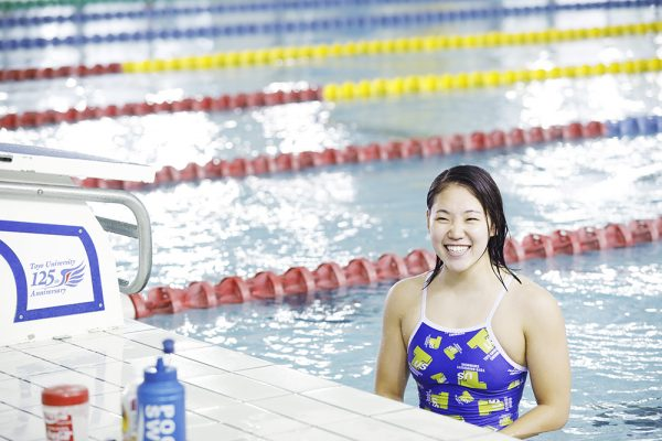 白井璃緒(水泳) の兄弟と姉も競泳選手!東洋大学で高校は?経歴も!
